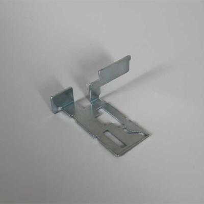 Stanz-Nibbelteil, Innenkonturen mit Sonderwerkzeugen, Umformung auf der Biegepresse